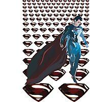 Superman LOGOS Photographic Print