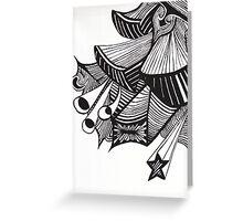 Non Organic painting Greeting Card