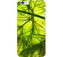 Lush foliage in the sunshine iPhone Case/Skin