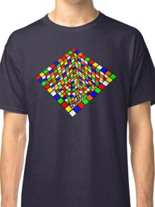 Illusion Cube  Classic T-Shirt