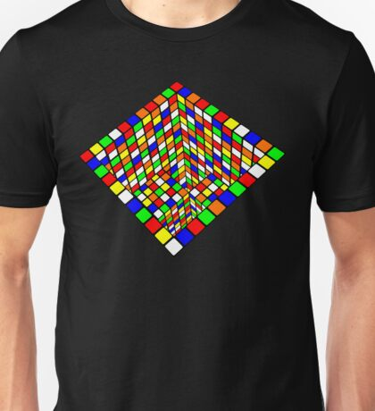 Illusion Cube  Unisex T-Shirt