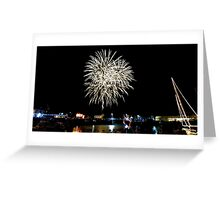 Cornwall: Fireworks over Padstow Greeting Card
