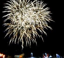 Cornwall: Fireworks over Padstow Sticker