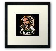 St. James Bitter Ale Framed Print