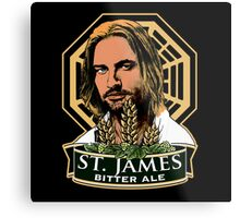 St. James Bitter Ale Metal Print