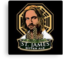 St. James Bitter Ale Canvas Print