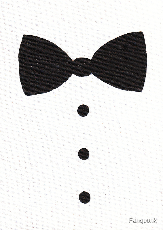 Bow Tie painting by Fangpunk