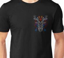 Pale geometric deer head Unisex T-Shirt
