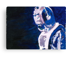 Excellent Leader - Cyberman Painting Canvas Print