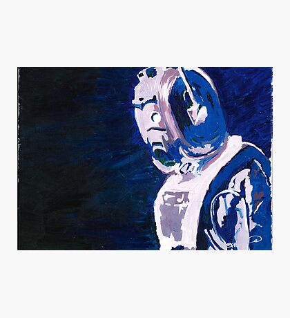 Excellent Leader - Cyberman Painting Photographic Print