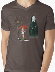 Spirited Lamp...stop?  Mens V-Neck T-Shirt