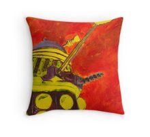 Exterminate - Dalek Painting Throw Pillow