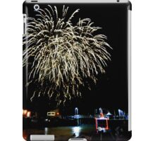Cornwall: Fireworks over Padstow iPad Case/Skin