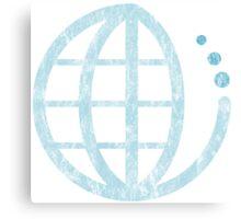 ecoecho : conserve water Canvas Print