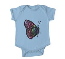 Butterfly Number 1 Chilldrens One Piece - Short Sleeve