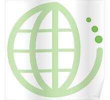 ecoecho : green earth Poster