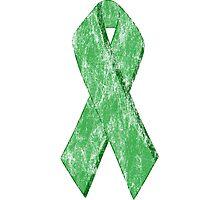 green ribbon Photographic Print