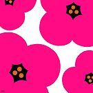 poppies pink by hennydesigns
