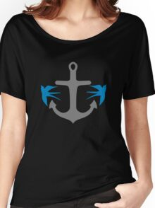Anchor and Swallows Women's Relaxed Fit T-Shirt