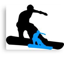 snowboard shadowstance Canvas Print