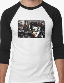 Catwoman Catwomen. Batman. DC Comics. Men's Baseball ¾ T-Shirt