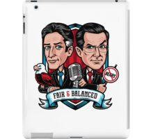Fair & Balanced iPad Case/Skin