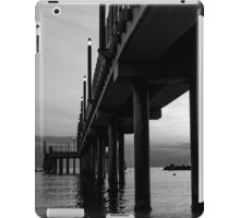 Staring at the sun - Black and White iPad Case/Skin