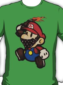 Anarchist Mario T-Shirt