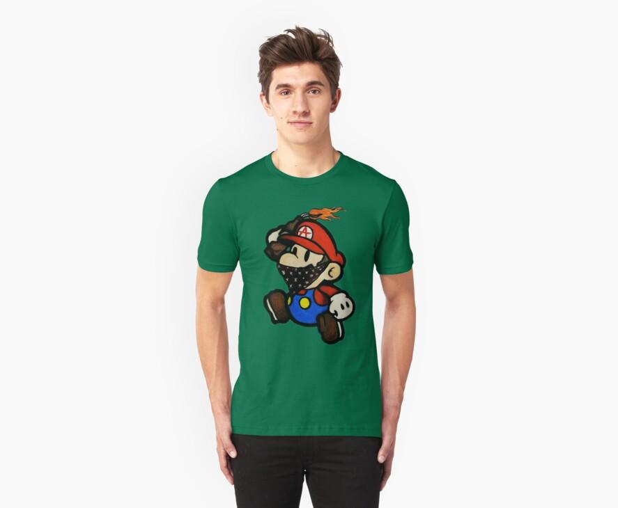 Anarchist Mario by azummo