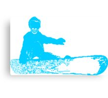 skele snowboarder Canvas Print