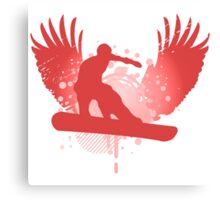 snowboard hi-fi Canvas Print