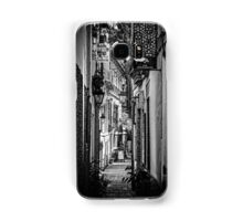 Streets of Seville BW Samsung Galaxy Case/Skin