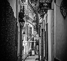 Streets of Seville BW by Andrea Mazzocchetti