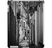 Streets of Seville BW iPad Case/Skin
