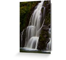Beautiful Waterfall Cascade Greeting Card