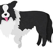 Border Collie by Claire Stamper