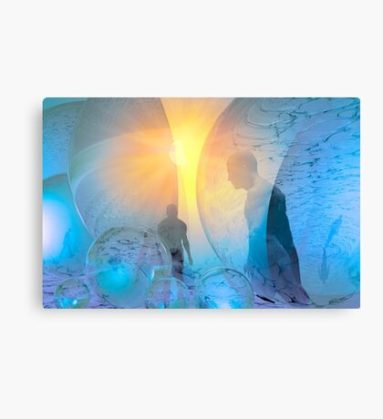 Out of the cold Canvas Print