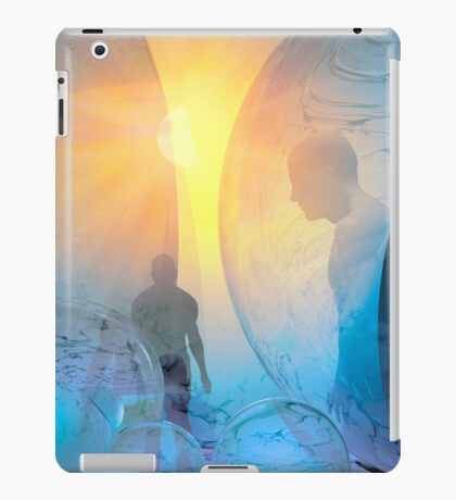 Out of the cold iPad Case/Skin