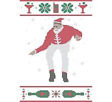 Christmas Bling - Santa Photographic Print