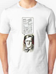 Hipster Richard Wagner Unisex T-Shirt