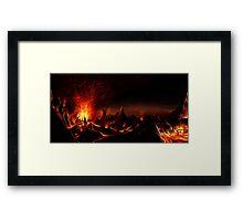 DOOM: Hell on Mars Framed Print