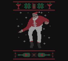 Christmas Bling - Santa Kids Tee