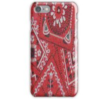 Red Bandana - iPhone Case iPhone Case/Skin