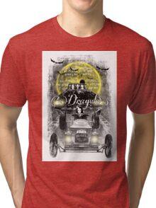 Dragula. Elvira. Vampira. Morticia Addams. Lily Munster.  Tri-blend T-Shirt