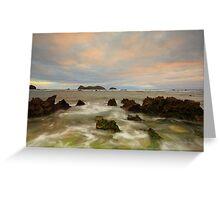 Neds Beach Rocks Greeting Card