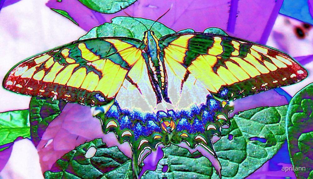 Foil Butterfly by aprilann