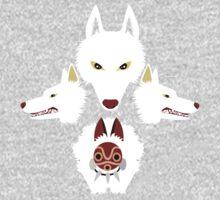 Mononoke - The wolves Baby Tee