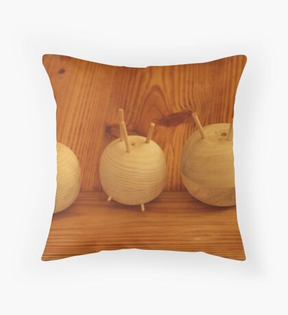 The Onion Family Throw Pillow