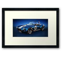 Shelby Cobra 427 - Bolt Framed Print