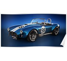 Shelby Cobra 427 - Bolt Poster